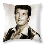 James Garner By Mb Throw Pillow