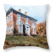 James Mcleaster House Throw Pillow