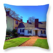 James Monroe's Highland Throw Pillow