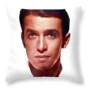 James Stewart, Actor Throw Pillow