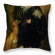 James Stuart - Duke Of Richmond And Lennox                       Throw Pillow