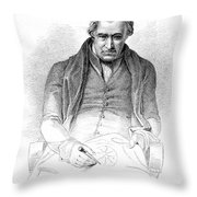 James Watt, Scottish Inventor Throw Pillow