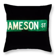 Jameson Street Throw Pillow by Anna Villarreal Garbis