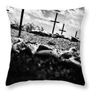 Jamestown Cemetery Throw Pillow