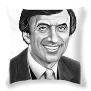 Jamie Farr Throw Pillow