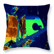 Jamie's Crying The Cosmic Blues In Spokane Throw Pillow