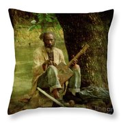 Jamming Throw Pillow