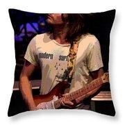 Jamming Lukas 2 Throw Pillow