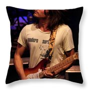 Jamming Lukas Throw Pillow