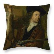 Jan De Hooghe  Throw Pillow
