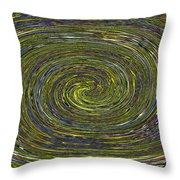 Janca Abstract #6731eca1b Throw Pillow