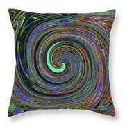Janca Abstract Panel #5473w4 Throw Pillow