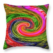 Janca Colors Panel Abstract # 5212 Wtw7abc Throw Pillow