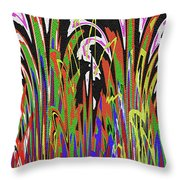Jancart Drawing Abstract #8455wtpc Throw Pillow