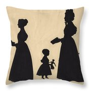 Jane Anderson Esther Ainslie Helena Anderson Mrs Arkley Charles Atherton Throw Pillow