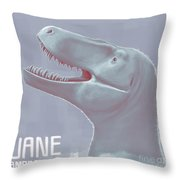 Jane Is A Fossil Specimen Of Small Throw Pillow