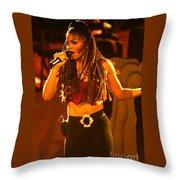 Janet Jackson 94-2994 Throw Pillow