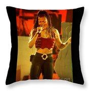 Janet Jackson 94-3000 Throw Pillow