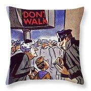 New Yorker January 24 1959 Throw Pillow