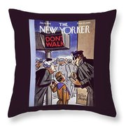 January 24 1959 Throw Pillow