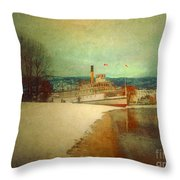 January 9 2010 Throw Pillow