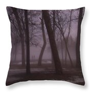 January Fog 1 Throw Pillow