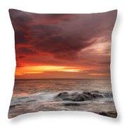 January Sunrise Throw Pillow