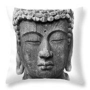 Japan: Buddha Throw Pillow