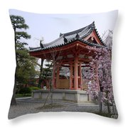 Japan Kiyomizu-dera Temple Throw Pillow