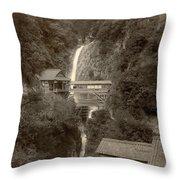 Japan: Kobe, 1890s Throw Pillow