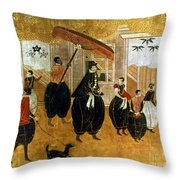 Japan: St. Francis Xavier Throw Pillow by Granger