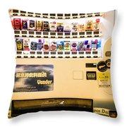 Japan - Vending #4 Throw Pillow