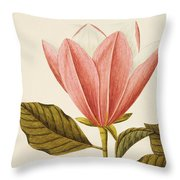 Japanese Bigleaf Magnolia Throw Pillow