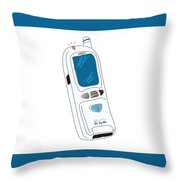 Japanese Classic Phone Throw Pillow