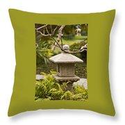 Japanese Friendship Garden 1 Throw Pillow