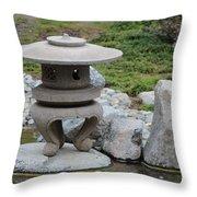 Japanese Friendship Garden 5 Throw Pillow