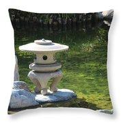 Japanese Friendship Garden 7 Throw Pillow