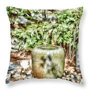 Japanese Garden 7 Throw Pillow