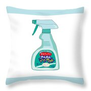 Japanese Kitchen Detergent Throw Pillow