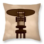 Japanese Lamp Throw Pillow