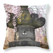 Japanese Lantern Throw Pillow