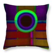 japanese Portal Throw Pillow