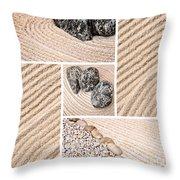 Mineral Garden  Throw Pillow
