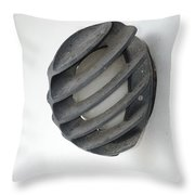 Japanese Shell Lamp Throw Pillow
