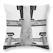 Japanese Texture #74 Throw Pillow