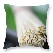 Japanese Udon Throw Pillow