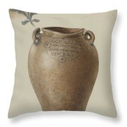 Jar Throw Pillow