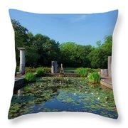 Jasmine Hill Gardens Throw Pillow