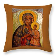 Jasna Gora Throw Pillow