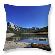 Jasper Alberta Throw Pillow